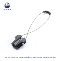 Cheap Standard Corrosion Resistance 3mm 3KN ADSS Cable Clamp wholesale