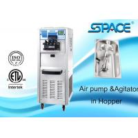 Floor Standing Commercial Ice Cream Maker With Air Pump Agitator In Hopper