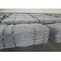 Heavy Zinc Coated Wire Cages For Stones , Stone Cages For Retaining Walls