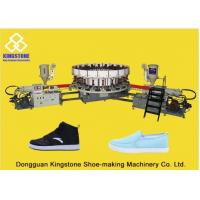 Buy cheap 20 Stations Canvas Shoe Making Machine, Rotary Sole Injection Moulding Machine from wholesalers