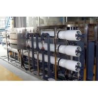China PH 4-9 RO Pure Water Treatment System / SS Water Purification Plant on sale
