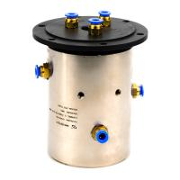 Gas Slip Ring Hybrid Rotary Union Joint with Compact Design for Machinery
