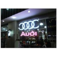 Cheap P10 / 12 Clear Transparent Glass Advertising LED Display for Shopping Mall Facade wholesale