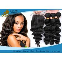 Buy cheap Factory WholesaleVirgin HairTop 6a Human Hair Extension Perfect lady Hair from wholesalers