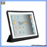 Cheap Smart Cover Leather Case for Apple iPad 2 Black-87001823 wholesale
