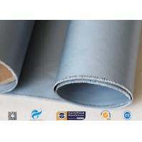 Cheap Grey Silicone Coated Fiberglass Fabric 7628 0.25mm For Electrical Insulation wholesale