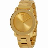 China Buy Best Seller MOVADO Bold Yellow Gold Ion Plated Stainless Steel Ladies Watches Sale on sale