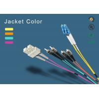 Buy cheap SC fiber patch cord 100% insertion loss less <0.1dB Master Fiber Opitc Patch from wholesalers
