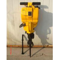 Cheap portable gasoline engine rock drill with drill bits and drill rods wholesale