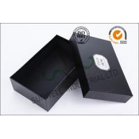 Cheap Black Luxurious Leather Belt Corrugated Packaging Boxes Custom Logo Printed wholesale