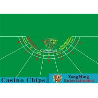 Cheap 7 Players Roulette Board Layout With Personalized Custom Printing Services wholesale
