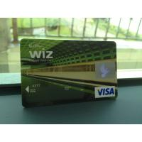 Cheap Glossy VISA Smart Card / Prepaid Debit Card without Personalization wholesale