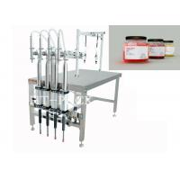 Cheap Beverage / Food / Medical Semi-Automatic Filling Machine with Pneumatic Driven wholesale