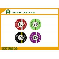 Cheap Custom Lucky Poker Chips , Professional Casino Ceramic Poker Chip wholesale
