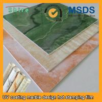 China Realistic Wood Grain Laminate Film , Heat Transfer Printing Film For Plastic Products on sale