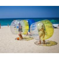 Quality TPU Inflatable Zorb Ball Interactive Bumper Bubble Soccer Football for sale