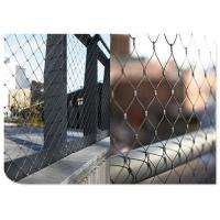 Buy cheap Animal Enclosure Flexible Stainless Steel Wire MeshHand Woven Cable For Zoo from wholesalers