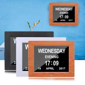 Cheap Digital Clock Invitation Lcd Video Greeting Card 5 Alarm Options 1024*768 Resolution wholesale