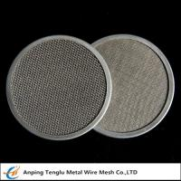 Cheap Stainless Steel Filter Disc|Materials SUS302/304/316 with Single or Multiple Layers wholesale