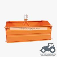 Cheap 6TTBX - Farm equipment tractor 3point hitch tipper transport box,link box 6ft wholesale