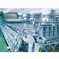 China Cultural/Package and Tissue Paper Making Machine for Raw Material Waster Paper or Wood Pulp on sale