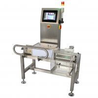 China High Speed Automatic Checkweigher For Chemical , Battery Industries on sale