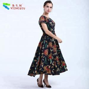 Cheap YIZHIQIU black bohemian women dresses wholesale wholesale