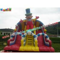 Cheap Outside Inflatable Commercial Inflatable Slide 8.5L x 5W x 6.5H Meter for Children, Adults wholesale