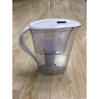 Cheap ABS / AS White Countertop Alkaline Water Purifier Pitcher High PH Natural Filtration System wholesale