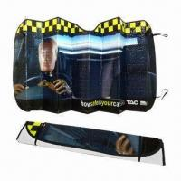 Cheap PE Car Sunshades for Front Windows wholesale