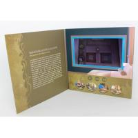Cheap Rechargeable LCD modules Video Brochure Card for opening Veremonies , 4 color printing wholesale