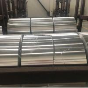 Cheap ROHS Aluminum Coil / Automobile Radiator Coil Aluminum Stock Silver Color wholesale