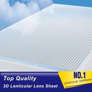 Cheap 16 lpi lenticular lens array-PS 3d lenticular sheet buy online-3d lenticular lens blanks for digital inkjet uv prints wholesale
