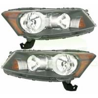Cheap Left And Right Side LED Car Headlights For 08-11 HONDA ACCORD 4DR SEDAN wholesale