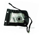 Cheap Portable Waterproof Mobile Cover Diving Black TPU Handphone Case 20x11.5cm Size wholesale