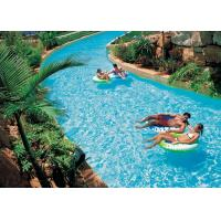 China Family Fun Water Park Lazy River Artificial Pool With High - Pressure Air Pump on sale