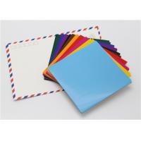 Cheap Handy Matt Gummed Paper Squares Assorted Colour For School Children Handwork wholesale