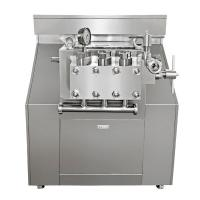 Buy cheap Double Stage Juice Homogenizer 3000l / H Flow Manual Operation Pressure from wholesalers