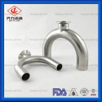Cheap 316L Stainless Steel Buttweld Fittings 180 Degree U-Type Tee  With Weld End wholesale