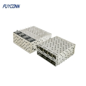 Cheap 2*4 8port 160 Position SFP Female Press Fit Connector wholesale