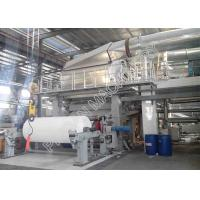 China High Efficiency Small Tissue Paper Making Machine Wood Virgin Pulp Raw Material on sale