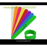 Cheap Custom Kids Cartoon Anti Mosquito Silicone Slap Bracelet/slap Wristbands wholesale
