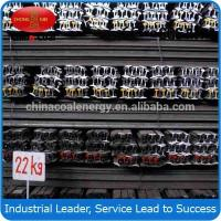 Cheap High quality 22kg/m Q235 steel rail from China,GB wholesale