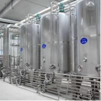 Cheap SUS304 / 316L Dairy Processing Plant Pasteurized Milk Processing Line 1 Year Warranty wholesale