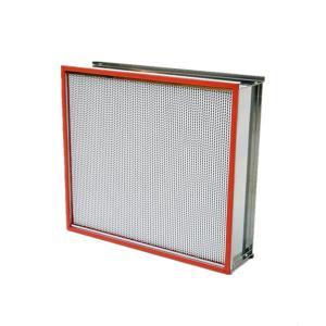 Cheap Mini Pleat Air Filter Equipment 24*24*12cm Fiberglass Media With Hood wholesale