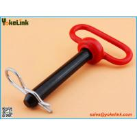 Red Handle Head Hitch pin with R Clip