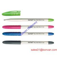 Cheap Cheap Plastic Pocket Ball Pen for Office for promotional gift wholesale