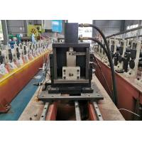 China Light Gauge Shutter Door Steel Framing Studs Metal Roll Forming Machine With PLC System on sale