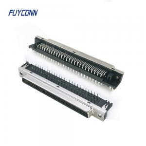 Cheap Right Angle PCB 20pin 36pin 68pin 100pin Female SCSI Connector wholesale