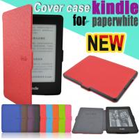 Cheap Protective Custom Kindle Paperwhite Case Amazon With Magnetic Clasp Closure wholesale